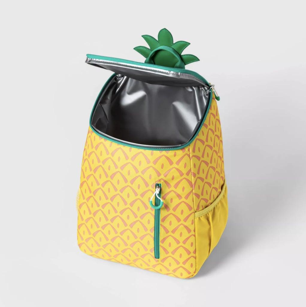 Sun Squad 14.4qt Backpack Cooler Pineapple