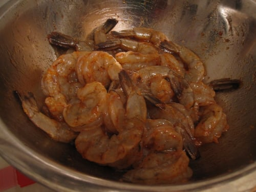 Grilled Sweet-and-Spicy Shrimp With Mint Dipping Sauce