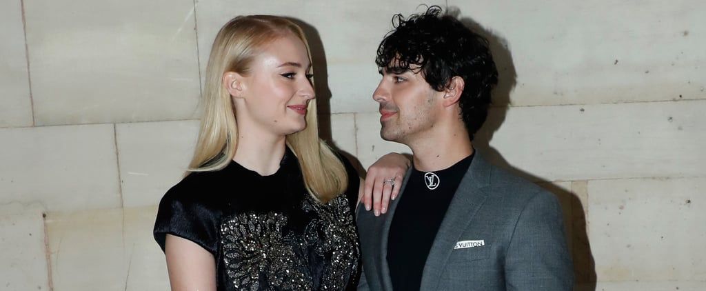 Joe Jonas and Sophie Turner at Paris Fashion Week 2018