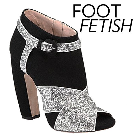 The new season shopping itch is coming on strong here at Fab so we're kicking off our shopping series with something we all love: shoes. For the upcoming season, we're raising our heels to magical, designer confections from the likes of Proenza Schouler, Marni, Chloé, and Jason Wu. Given, designer duds come at a hefty price tag, but think of it as your ultimate wardrobe investment. If these jaw-dropping, sparkly Miu Miu booties are your kinda style, check out the rest of our designer shoe edit. Happy shoe-shopping!