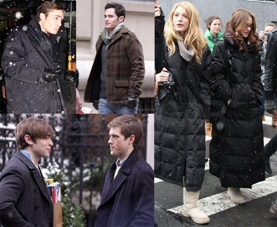 Gossip Girl Crew Isn't Escaping East Coast Cold For College