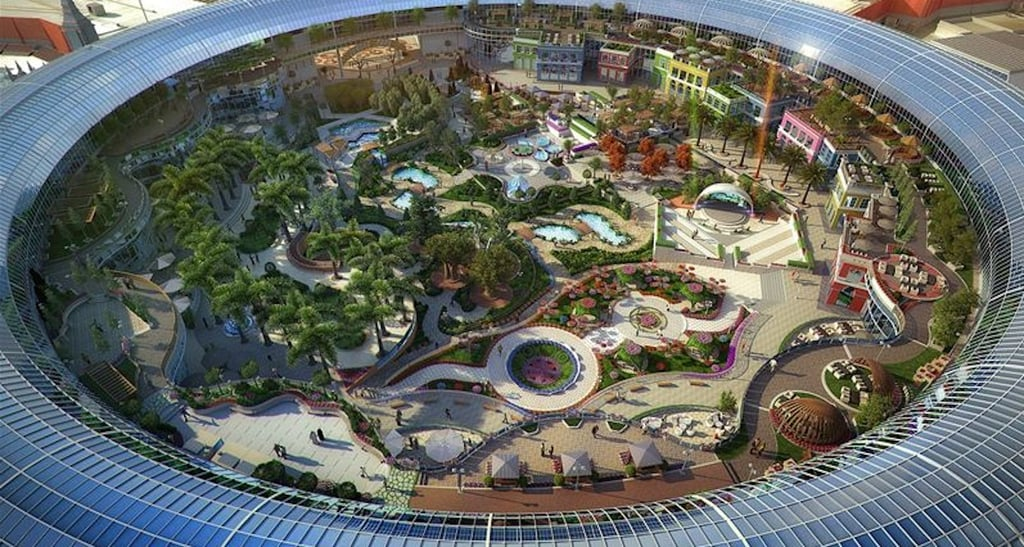 Park Auto Mall >> Dubai's Cityland Mall With Botanical Garden Open 2018 | POPSUGAR Middle East Love
