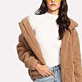 SheIn Faux Fur Jacket