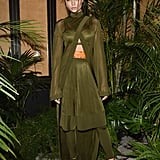 Josephine Skriver Wearing Balmain