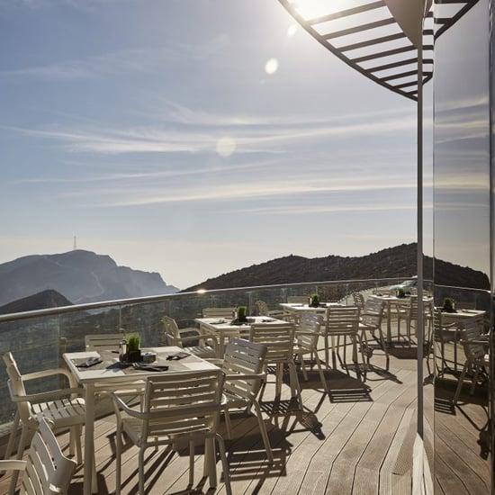 جبل جيس في رأس الخيمة يستعد لافتتاح أعلى مطعم في الإمارات