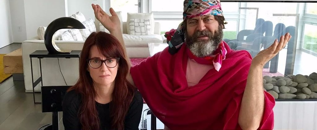 Will & Grace Star Megan Mullallay's Real-Life Home Rivals Anything Grace Decorated