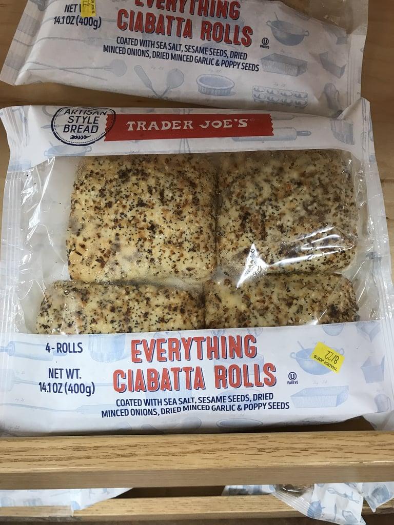 Trader Joe's Everything Ciabatta Rolls ($2)