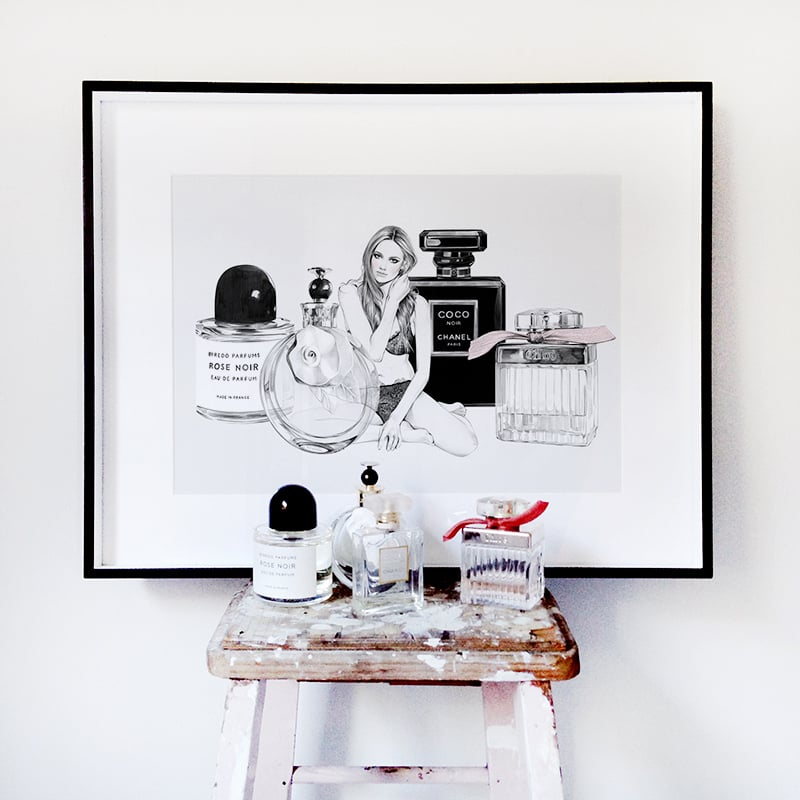 Where to Buy Fashion Art and Fashion Illustrations