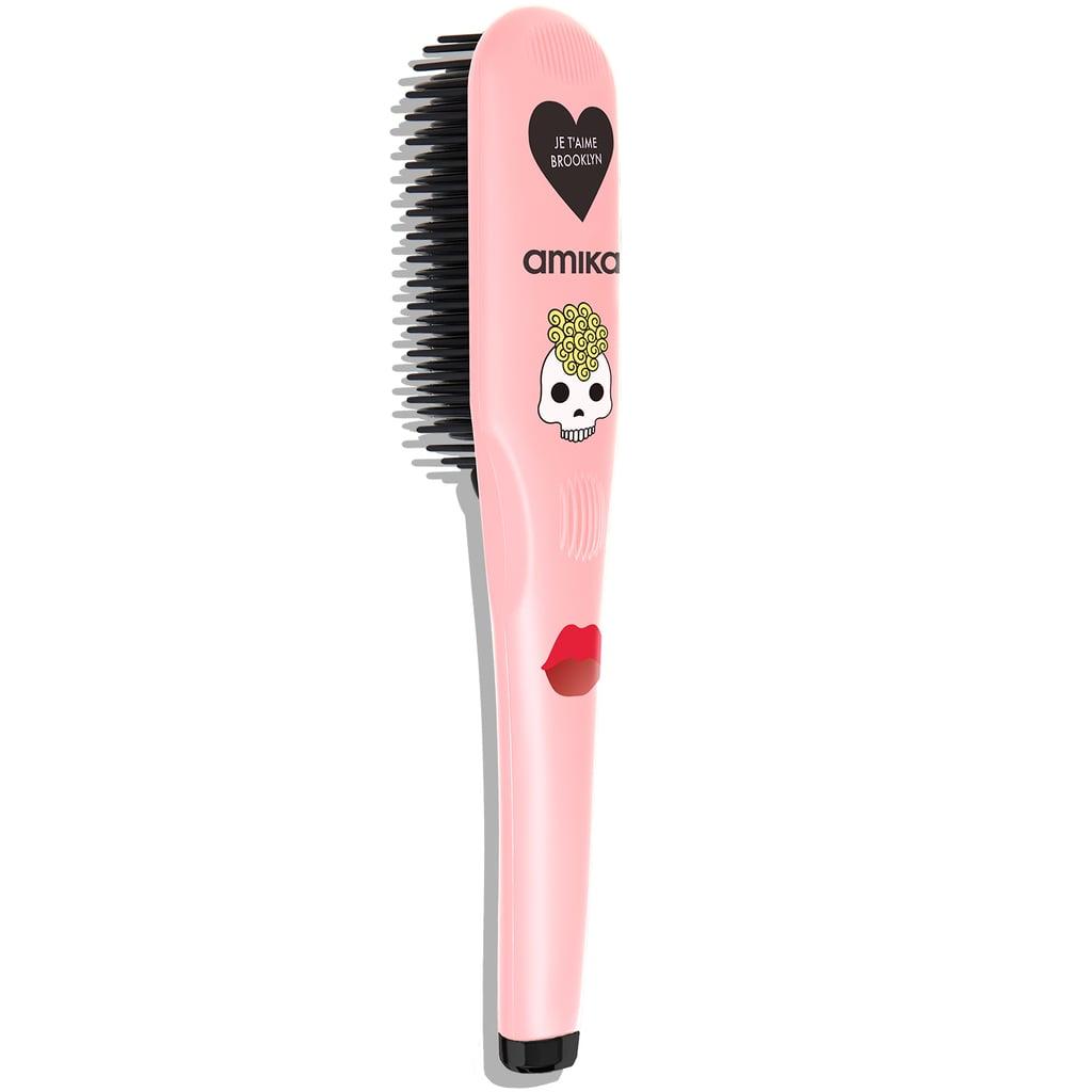 Amika Polished Perfection Rose Quartz Straightening Brush