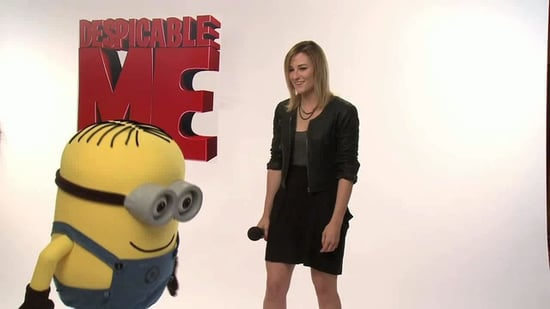 Extra Helpings: Lindsay at the Despicable Me Junket