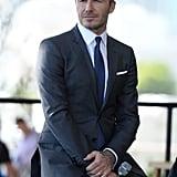 David Beckham, 2015