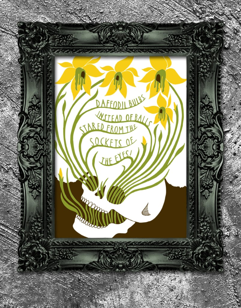 """""""Whispers of Immortality"""" by T.S. Eliot ($40) inspired this print."""