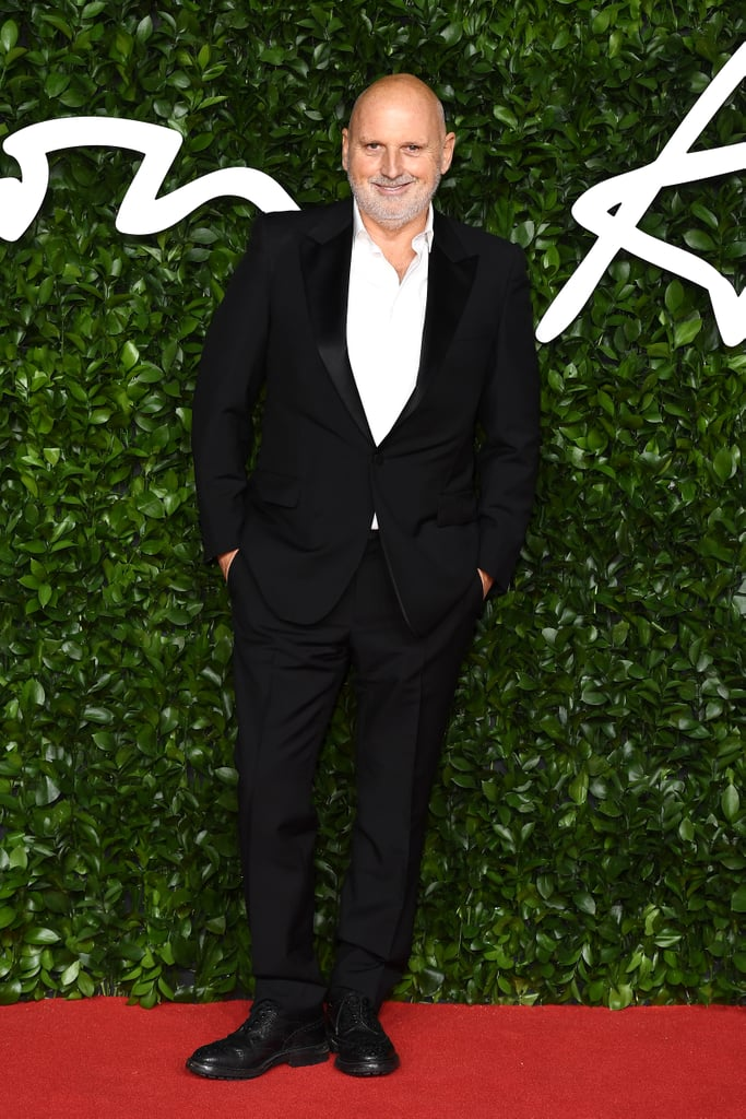 Sam McKnight at the British Fashion Awards 2019