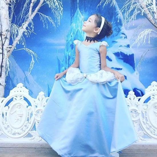 Dad Creates Disney Gowns (video)