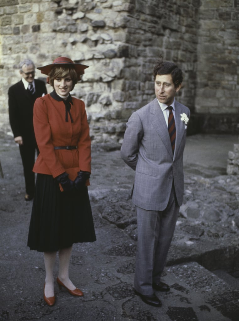 When Charles' Tie and Diana's Outfit Were a Perfect Match