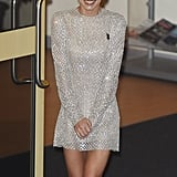 For the first week of The X Factor live shows, Cheryl slipped into a short, sparkly dress by Stephane Rolland.