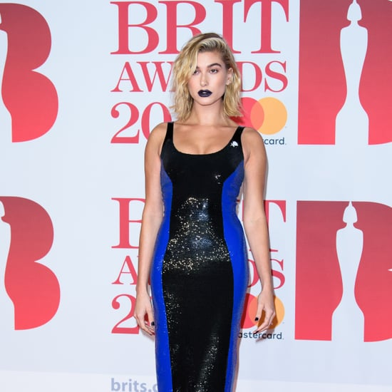 Hailey Baldwin Makeup at the Brit Awards 2018