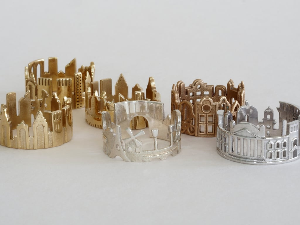 I think these crafty Cityscape Skyline Rings ($1,349) are so smart and super personal. They're the perfect way to pay homage to your hometown, the city you want to visit, or just one that's special to your heart. My pick? New York. — SW