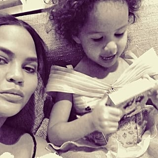 Chrissy Teigen Reads Luna Little Feminist Book