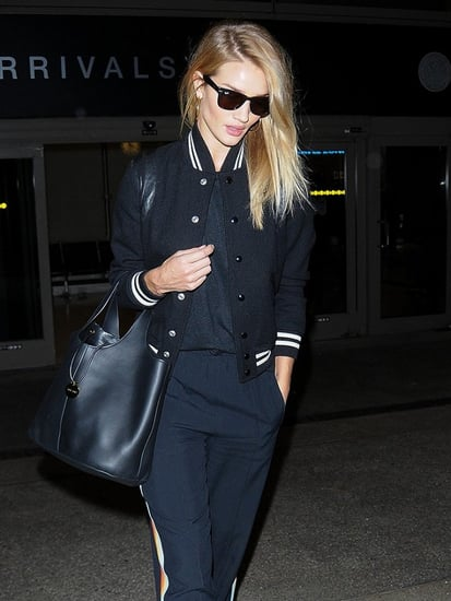 Rosie Huntington-Whiteley Just Slayed the Airport Style Game (Again)