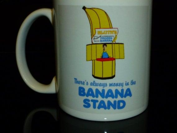 Banana Stand Coffee Mug ($16)