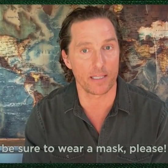 Matthew McConaughey's PSA in Spanish For Wearing Masks