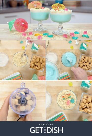Beach Pudding Cup Recipe