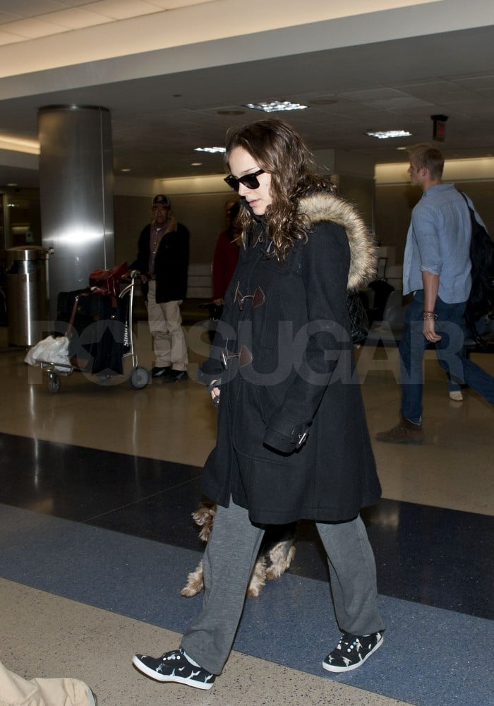 Natalie Portman and Benjamin Millepied Arrive With Whiz to Prep For the Oscars