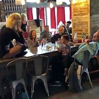 Video of Drag Queen Performing Baby Shark