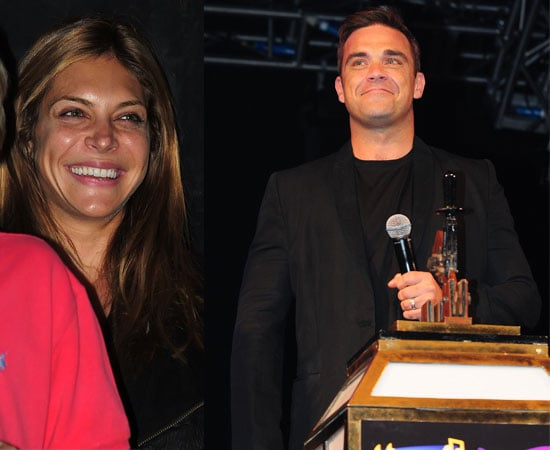 Pictures of Robbie Williams and Ayda Field