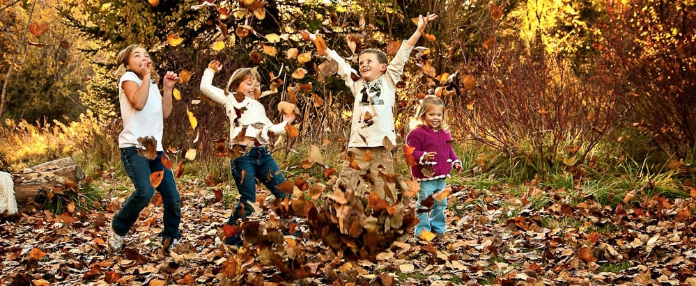 8 Fall Leaf Pictures to Get With Your Kids