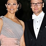 The Swedish royals attend a dinner after the religious wedding ceremony of Prince Albert II of Monaco and Princess Charlene of Monaco.