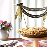 Alphabet Pie-Topper