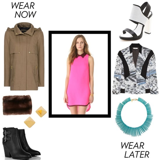 What to Wear With a Pink Dress 2013