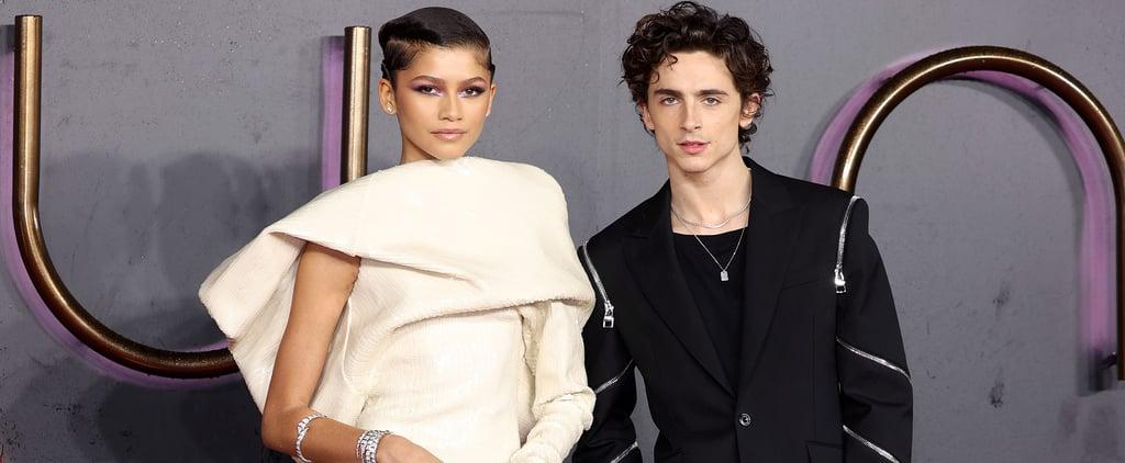 Zendaya and Timothée Chalamet Team Up For Dune Press