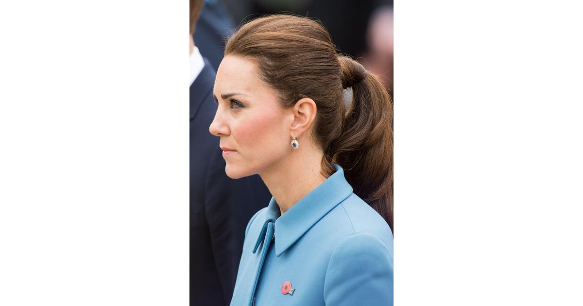 Kate Middleton In New Zealand Kate Middleton S Coif Even