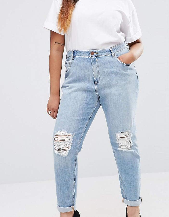ASOS Kimmi Shrunken Boyfriend Jeans