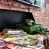 You'll find comic books and relics from the past — like a limited-edition Xbox!