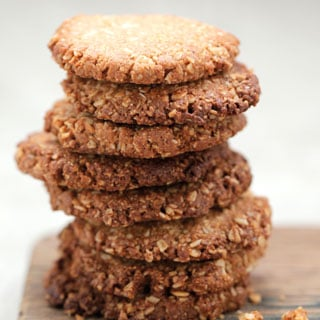 Recipe For Teresa Cutter's Anzac Biscuits