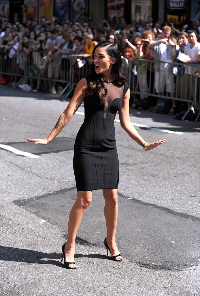 5cc57975b8c Photos of Megan Fox on Letterman and Fuze
