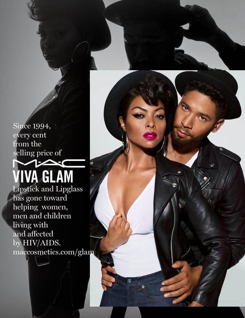 Taraji P. Henson For MAC Cosmetics Viva Glam 2017