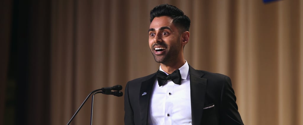 """Hasan Minhaj Skewered """"the Elephant Not in the Room"""" at the White House Correspondents' Dinner"""
