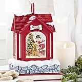 Snowman Lighted Water Doghouse