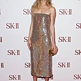 Kate Bosworth wore a strapless dress in Sydney.