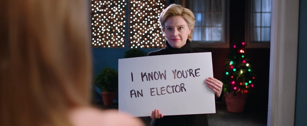Saturday Night Live Hillary Clinton Love Actually Skit