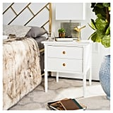 Mina Two Drawer Coastal Nightstand