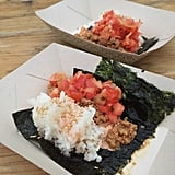 Create the ultimate sushi-taco hybrid by wrapping the filling in seaweed.