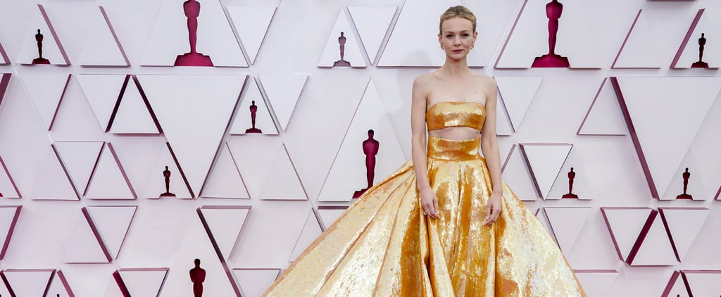Exposed-Midriff Fashion Trend on the 2021 Oscars Red Carpet