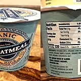 Trader Joe's Organic Maple and Brown Sugar Oatmeal Cup Nutritional Information