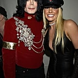2002: Britney didn't perform, but she did present Michael Jackson with a special trophy.